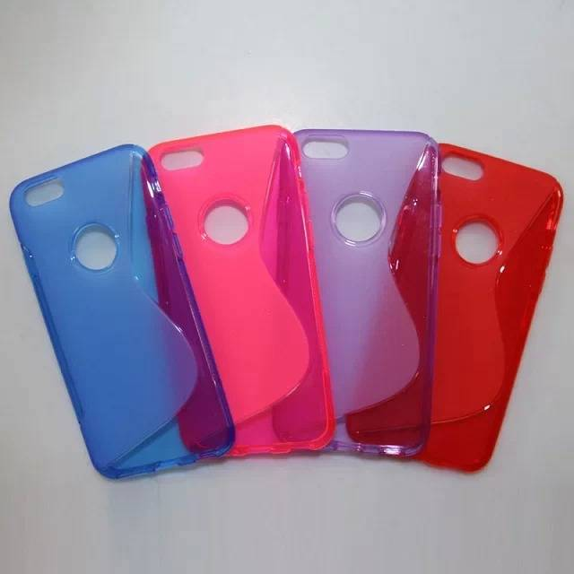 new arrival for apple iphone 6 Sline soft tpu case