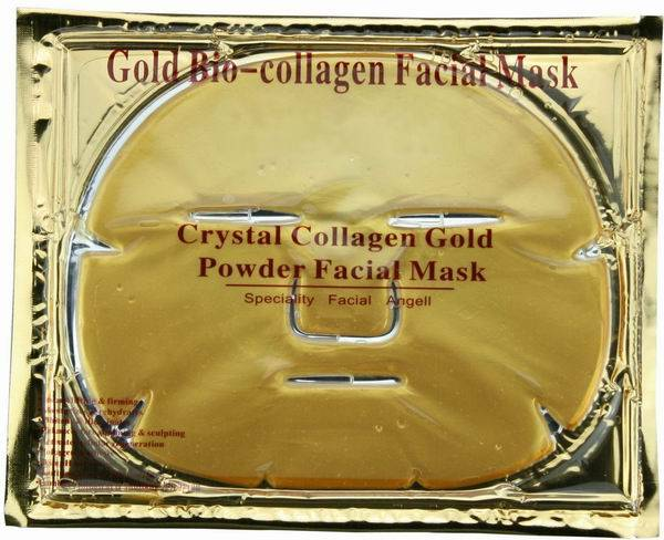 Best Seller 24K anti wrinkle collagen crystal gold face mask/facial mask ( HOT )