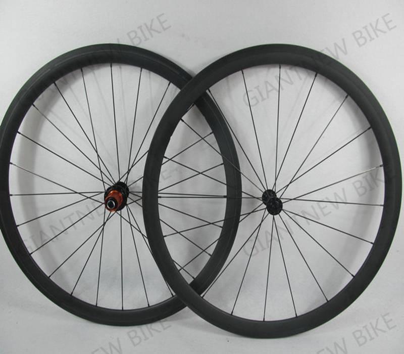 Road Bike Carbon Wheel set 700c 38mm tubular