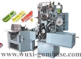Stick chewing gum packing machine