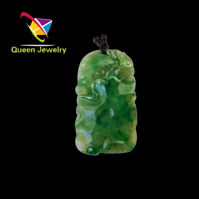 jade and tanner baby Natural Burma jade pendant rare yellow colors The most valuable collections