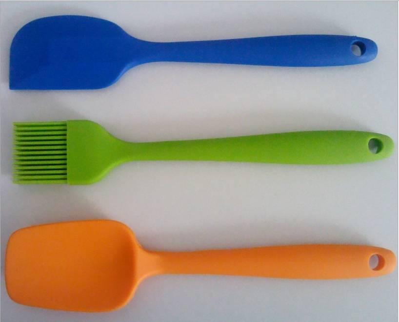 Silicone Brush Set,Silicone Spoon Set,Silicone Brush Set,Silicone Slice Set,Silicone Spatula Set