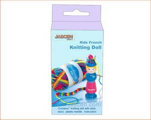DIY Kids French Knitting Doll Kit
