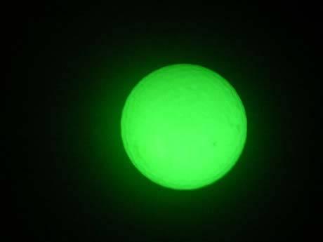 photoluminescent golf ball