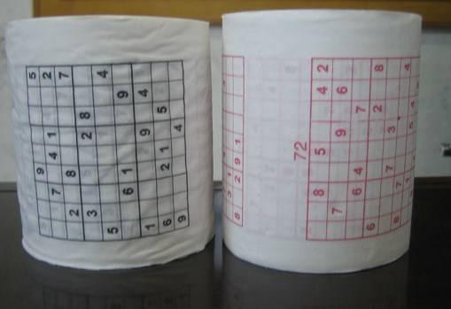 printed toilet paper (SWP-003)