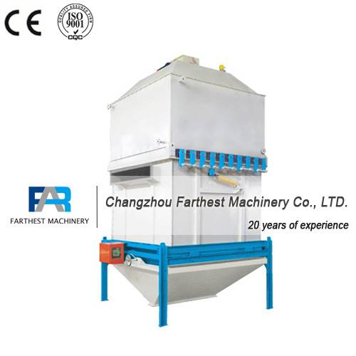 Stabilizer and Cooler Machine for Fish Feed