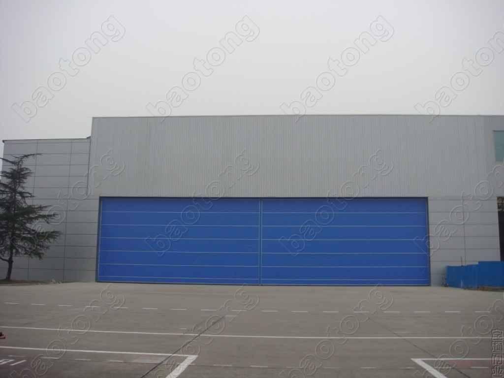 Fabric Lifting Industrial Door