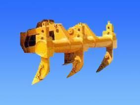 komatsu bulldozer D155A-1 three shank ripper