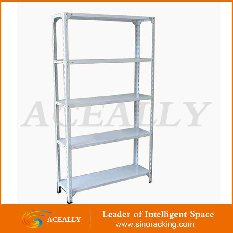 light duty multi-tier angled shelf