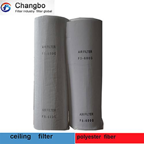 Eu5 600g synthetic fabric paint room air filter material