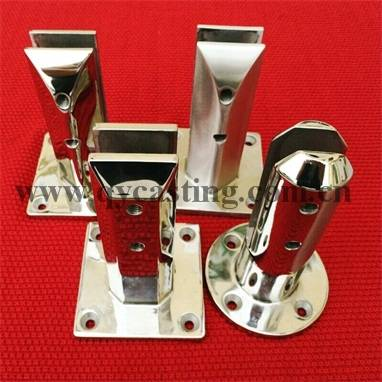 Stainless Steel Glass Clamps