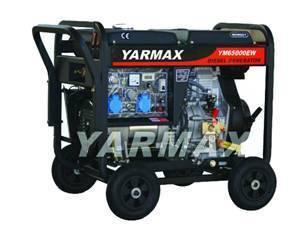YM6500EW-A Diesel Welding Generator