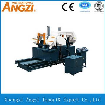 Horizontal NC Dual Column Band Sawing Machine