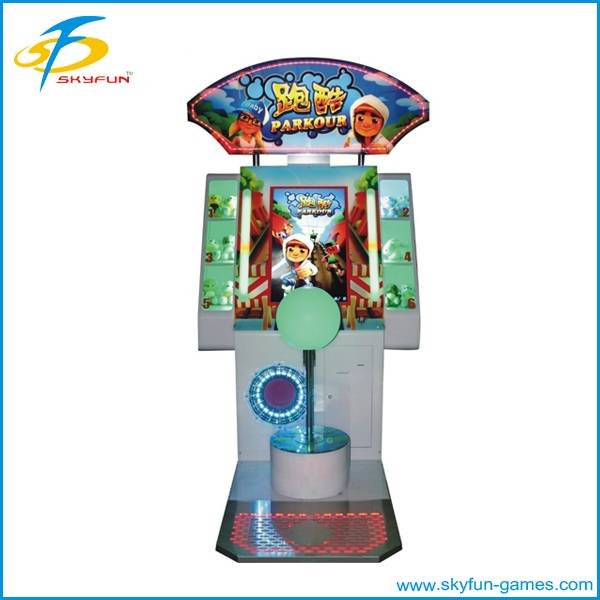 Arcade entertainment redemption lottery ticket game machine
