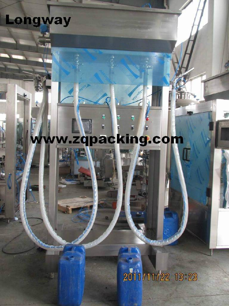 Automatic Liquid Filling Machine(For big and strange bottle)