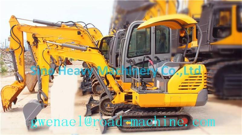 Excavator XE15 Hydraulic Crawler Excavator 0.044m³ for Construction