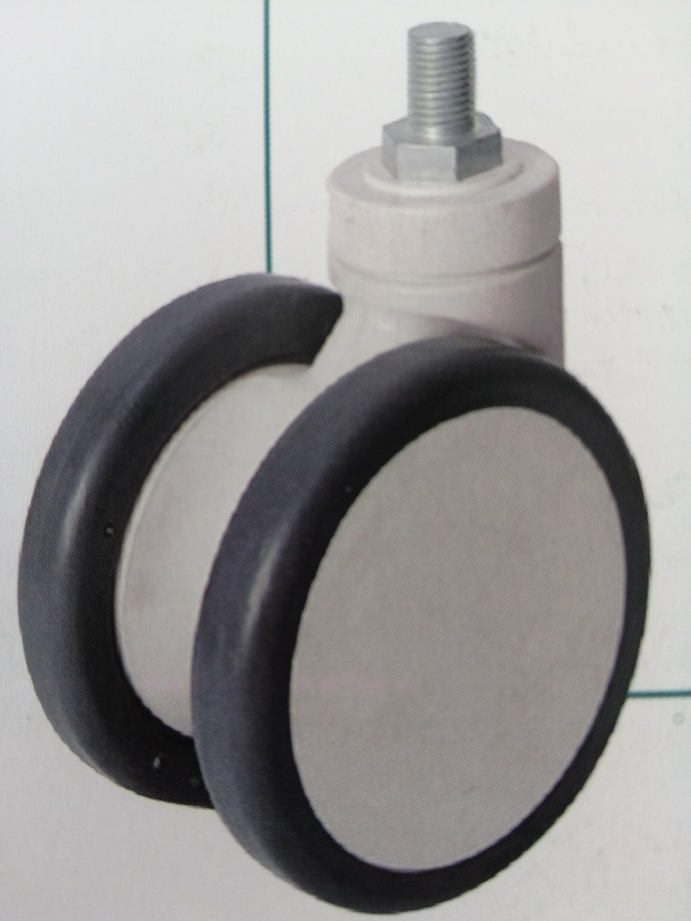 15series double-plate casters