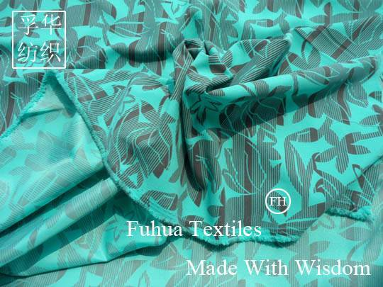 Prineted Polyester Fabric/Printed Peach Skin