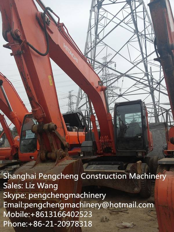Used Excavator Wheel Hitachi ZX160WD For Sale