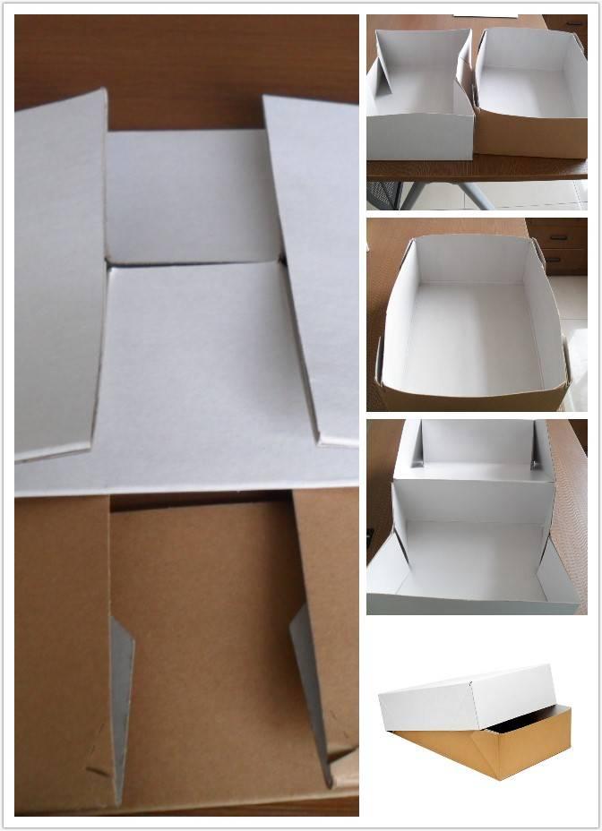 food boxes fresh frozen food packaging waterproof grease resistance