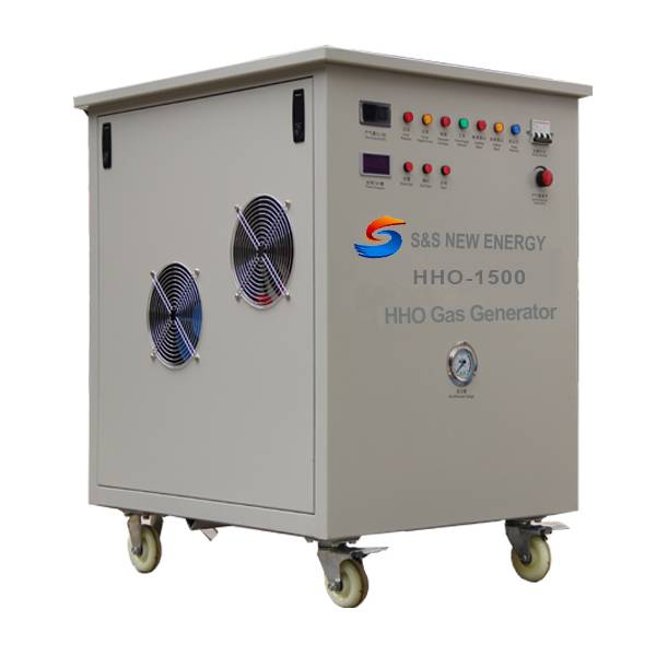 Energy-saving and environmental HHO generator for boiler heating, furnace