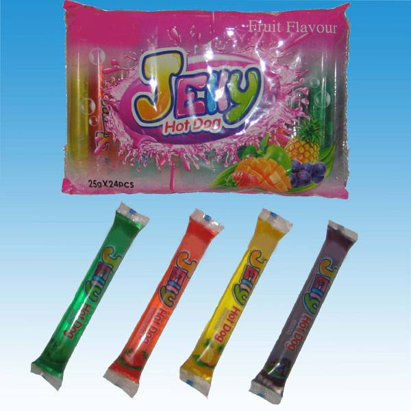 YUF003 25g Jelly Hot Dog