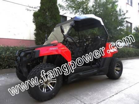 off road powerful multi-color rear wheel drive UTV 200cc