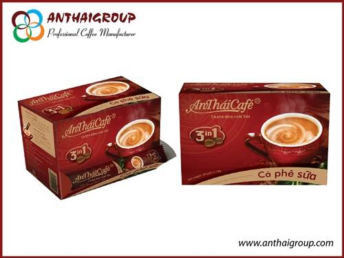 Instant coffee mix 3in1 - An Thai Cafe