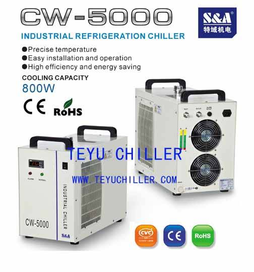CW-5000 Metal Cutting Machine Water Chiller