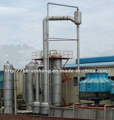Triple Effect Falling-Film Vacuum Evaporator Served in Complete Fishmeal and Fish Oil Plant