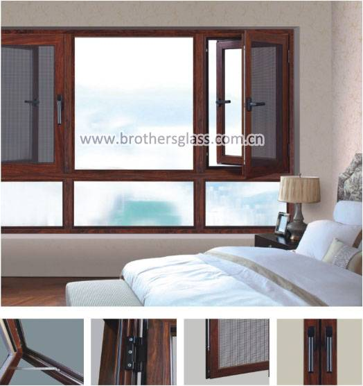 cw6789 multi-functional casement window