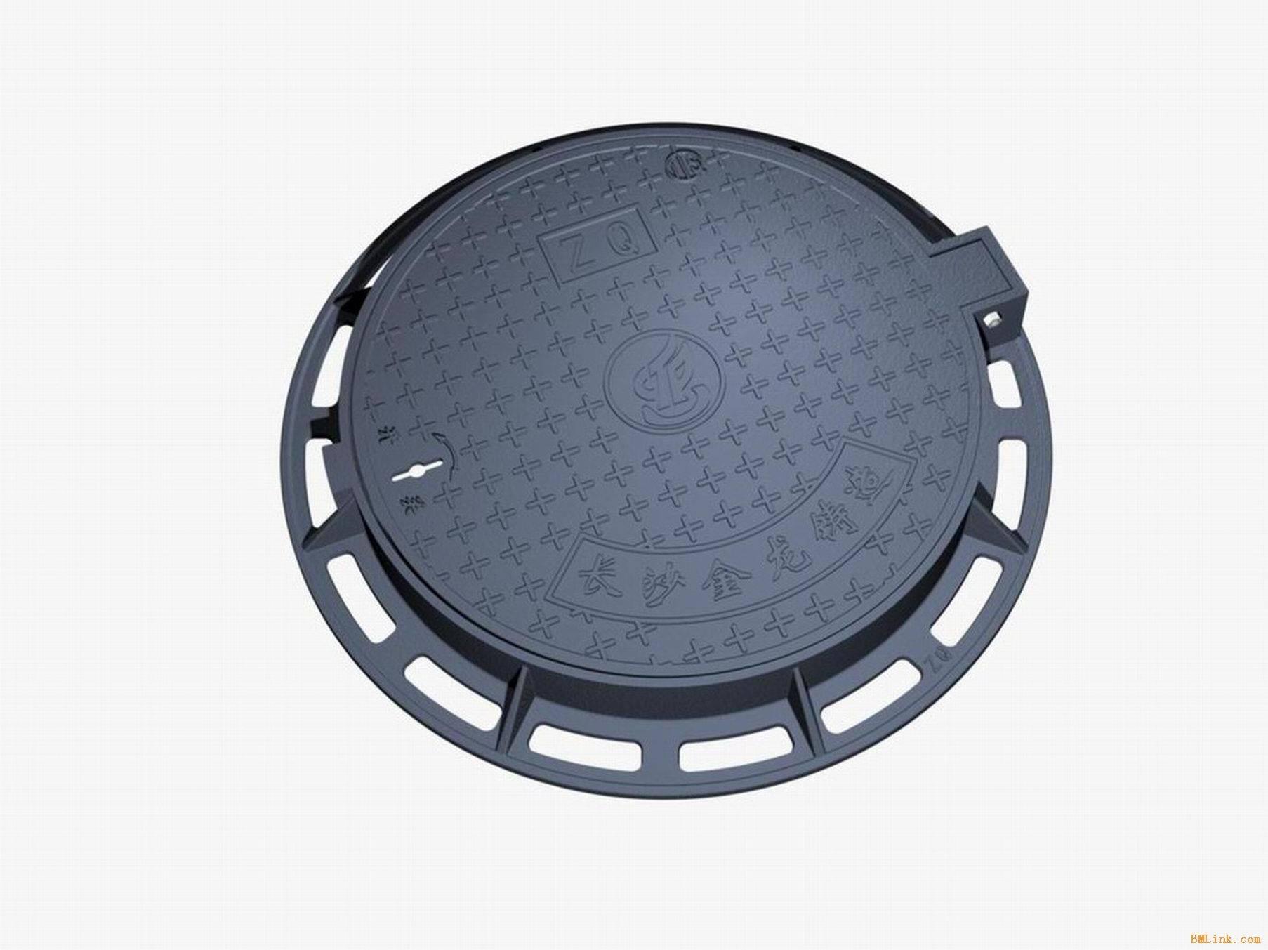 Ductile Iron Manhole Cover, Cast Iron Manhole Cover Exporter in China