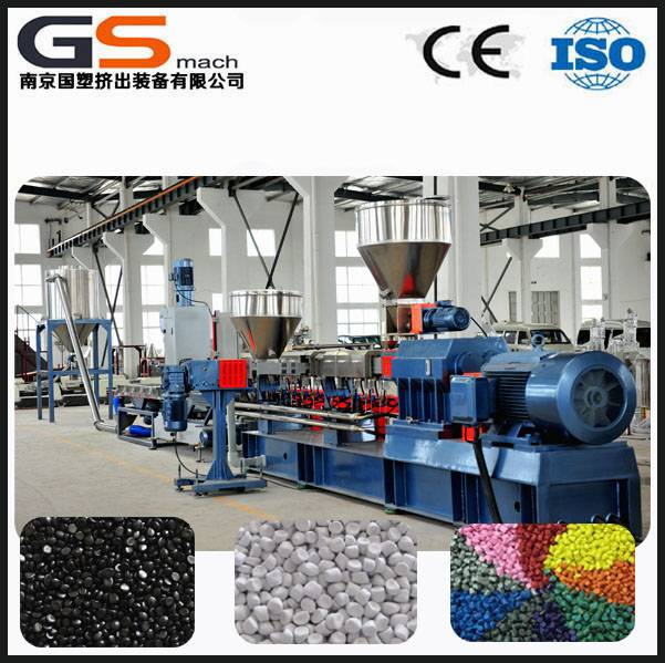 PVC granules making machine plastic extruder