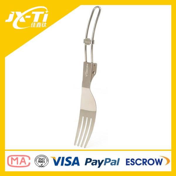 folding titanium fork