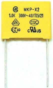 MKP-X2 film capacitor 300VAC
