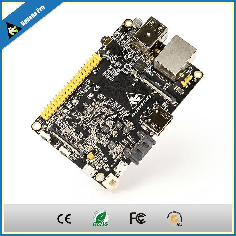 Free shipping2015 new products single board computer Banana Pro with wifi module Banana Pi upgrades