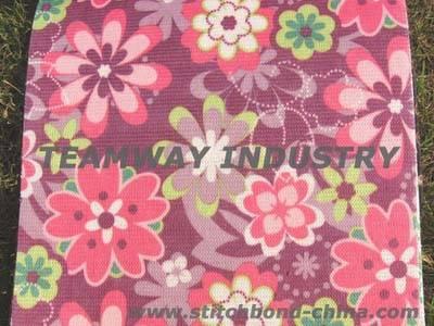 Gdteamway stitch bond polyester fabric,PET Needle punch Fabric