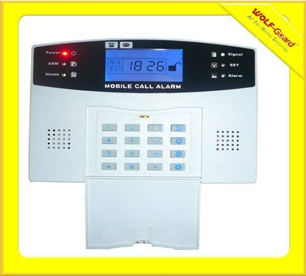 Wireless GSM Home Security Alarm System With Keypad, LCD Screen, Voice (YL-007M2B)