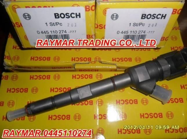 Bosch common rail injector 0445110274 for HYUNDAI 33800-4A500