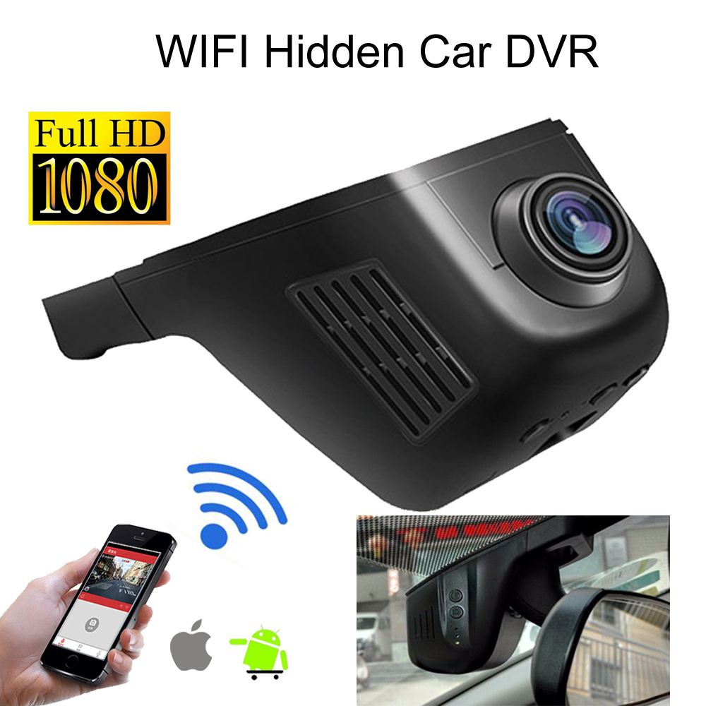1080P HD WIFI Hidden Car DVR Novatek 96655 Car Dash Recorder Camera G-sensor