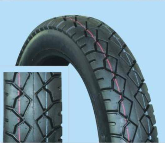 Tire for motorcycle