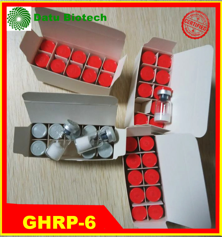 99% Purity Peptide GHRP-6/GHRP6/GHRP 6 Peptide Powder 5mg/10mg vial Reduce Body Fat Lowest Price