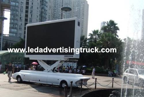 mobile led display, mobile led truck, mobile led trailer