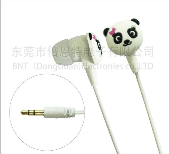 popular brand colored high quality earphone