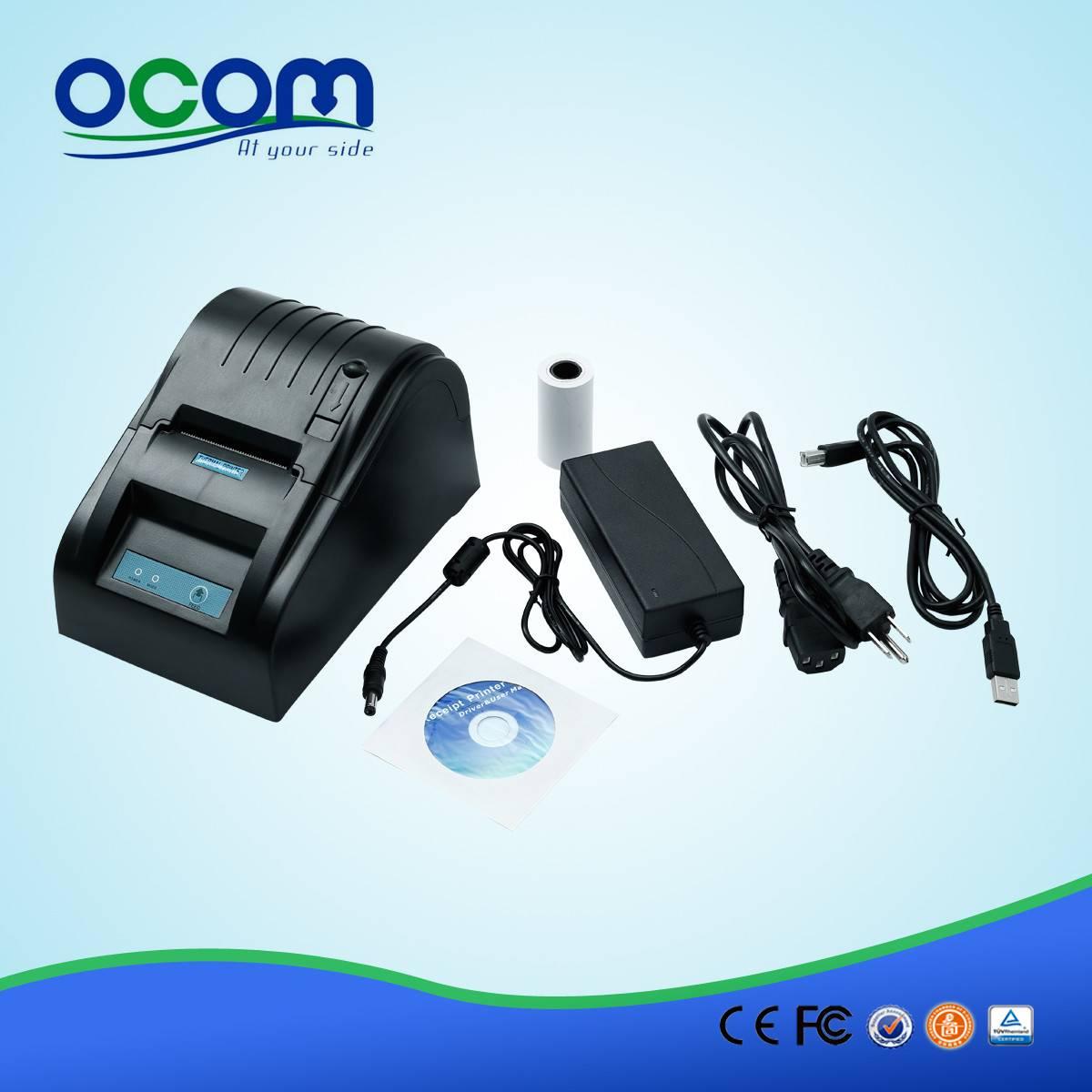 58mm thermal receipt printer for POS (OCPP-585)