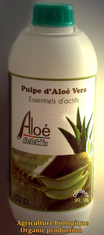 100% NATURAL Aloe Vera JUICE