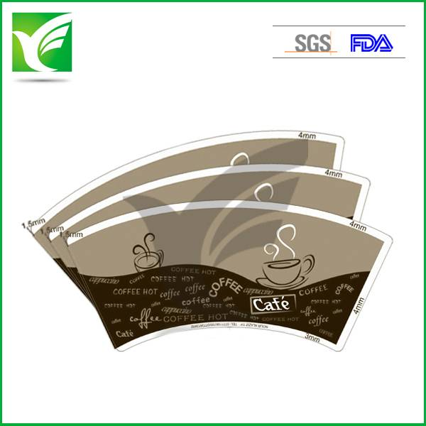 100% wood pulp raw material paper for cups