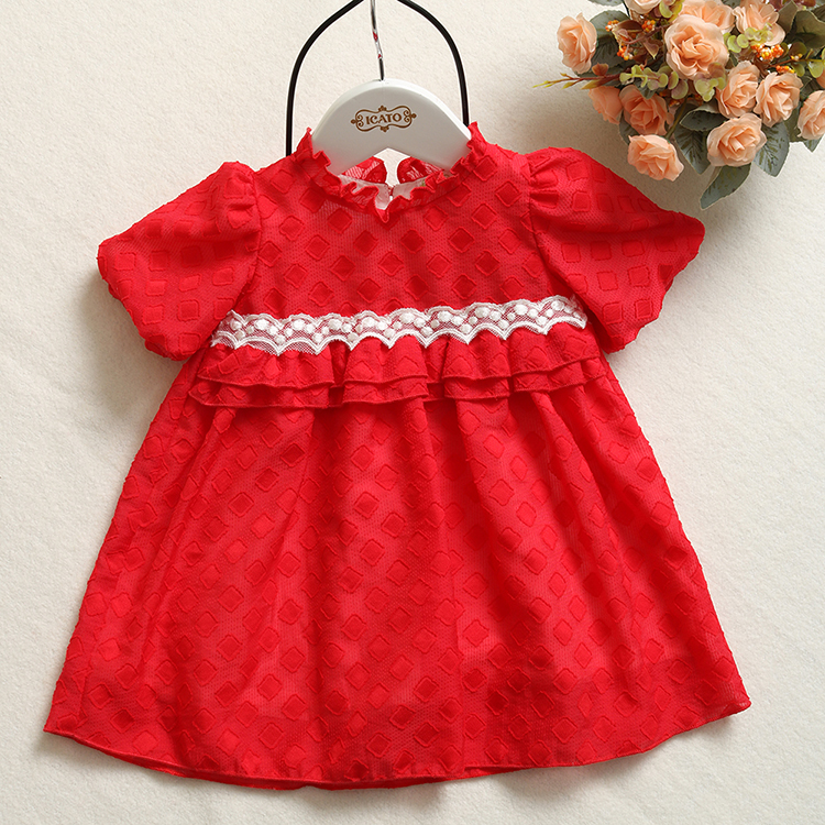 Brilliant one piece latest dress baby girl wear modern children birthday dress