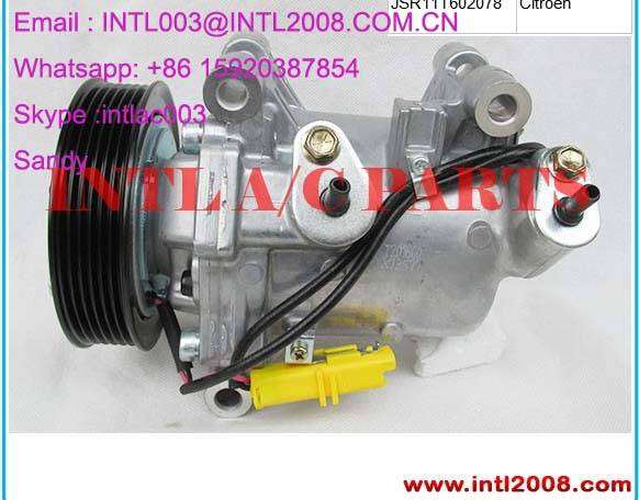 AUTO AC COMPRESSOR FOR peugeot Citroen 9806599380