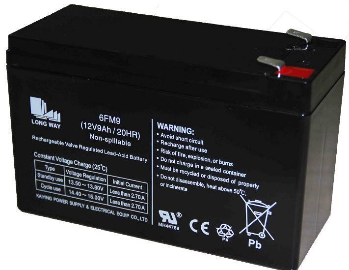 Sealed Lead Acid Battery/6FM9(12V9AH/20hr)